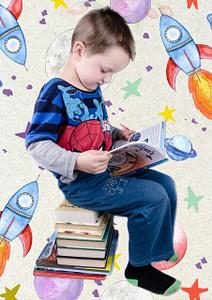 enfant qui lit